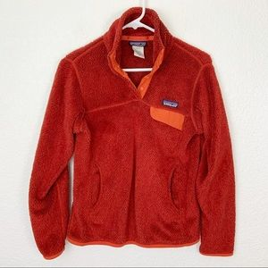 Patagonia Re-Tool Snap Pullover Fleece Small